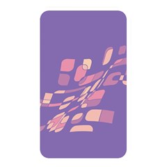 Purple Abstraction Memory Card Reader