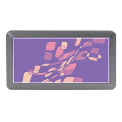 Purple abstraction Memory Card Reader (Mini)