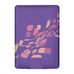 Purple abstraction Kindle 4