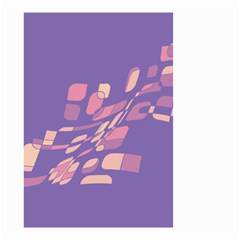 Purple abstraction Small Garden Flag (Two Sides)