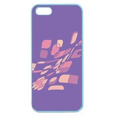 Purple abstraction Apple Seamless iPhone 5 Case (Color)