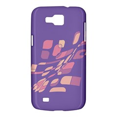 Purple abstraction Samsung Galaxy Premier I9260 Hardshell Case