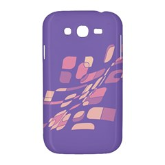 Purple abstraction Samsung Galaxy Grand DUOS I9082 Hardshell Case