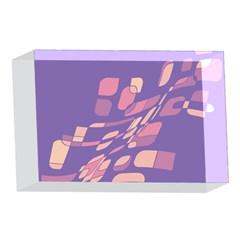 Purple abstraction 4 x 6  Acrylic Photo Blocks