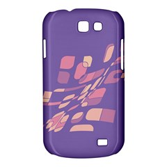 Purple abstraction Samsung Galaxy Express I8730 Hardshell Case
