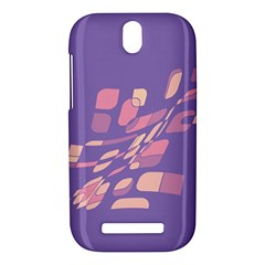 Purple abstraction HTC One SV Hardshell Case