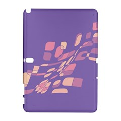 Purple abstraction Samsung Galaxy Note 10.1 (P600) Hardshell Case