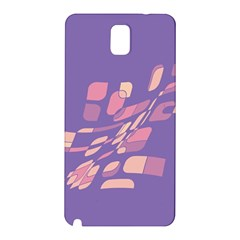 Purple abstraction Samsung Galaxy Note 3 N9005 Hardshell Back Case