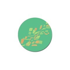 Green abastraction Golf Ball Marker (4 pack)