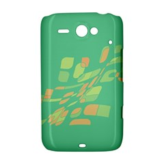 Green abastraction HTC ChaCha / HTC Status Hardshell Case