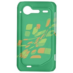 Green abastraction HTC Incredible S Hardshell Case
