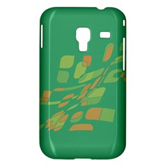 Green abastraction Samsung Galaxy Ace Plus S7500 Hardshell Case