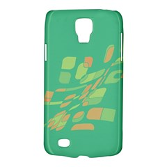 Green abastraction Galaxy S4 Active