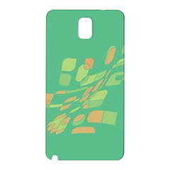 Green abastraction Samsung Galaxy Note 3 N9005 Hardshell Back Case
