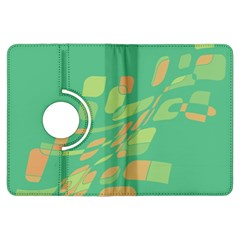 Green abastraction Kindle Fire HDX Flip 360 Case