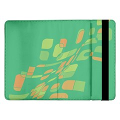 Green abastraction Samsung Galaxy Tab Pro 12.2  Flip Case