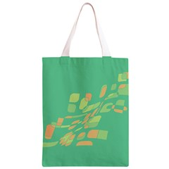 Green abastraction Classic Light Tote Bag