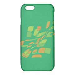 Green abastraction iPhone 6/6S TPU Case