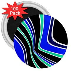 Colors of 70 s 3  Magnets (100 pack)