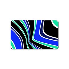 Colors of 70 s Magnet (Name Card)
