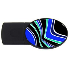 Colors of 70 s USB Flash Drive Oval (1 GB)