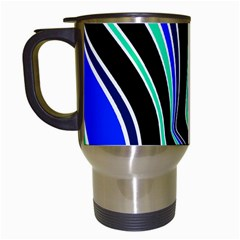 Colors of 70 s Travel Mugs (White)
