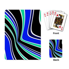 Colors of 70 s Playing Card