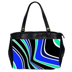 Colors of 70 s Office Handbags (2 Sides)