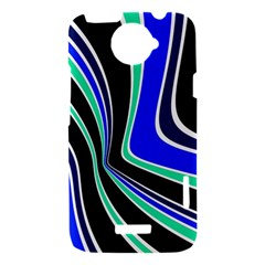 Colors of 70 s HTC One X Hardshell Case