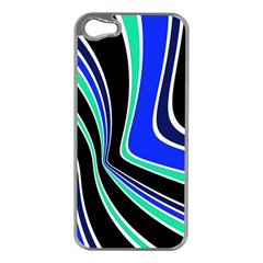 Colors of 70 s Apple iPhone 5 Case (Silver)