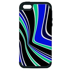 Colors of 70 s Apple iPhone 5 Hardshell Case (PC+Silicone)