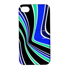 Colors of 70 s Apple iPhone 4/4S Hardshell Case with Stand
