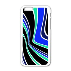 Colors of 70 s Apple iPhone 6/6S White Enamel Case