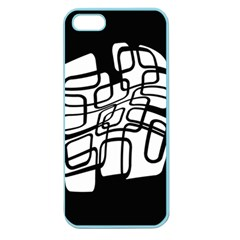 White abstraction Apple Seamless iPhone 5 Case (Color)