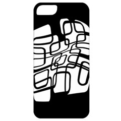 White abstraction Apple iPhone 5 Classic Hardshell Case