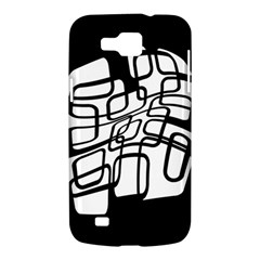 White abstraction Samsung Galaxy Premier I9260 Hardshell Case