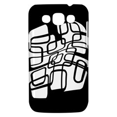 White abstraction Samsung Galaxy Win I8550 Hardshell Case