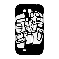 White abstraction Samsung Galaxy Grand GT-I9128 Hardshell Case