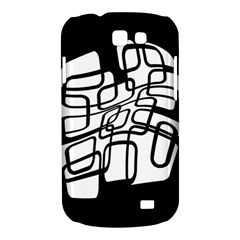 White abstraction Samsung Galaxy Express I8730 Hardshell Case
