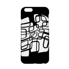 White abstraction Apple iPhone 6/6S Hardshell Case