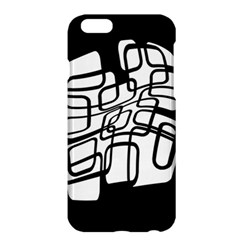White abstraction Apple iPhone 6 Plus/6S Plus Hardshell Case