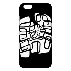 White Abstraction Iphone 6 Plus/6s Plus Tpu Case