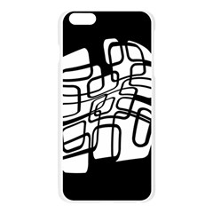 White abstraction Apple Seamless iPhone 6 Plus/6S Plus Case (Transparent)