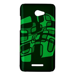 Green abstraction HTC Butterfly X920E Hardshell Case