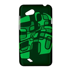 Green abstraction HTC Desire VC (T328D) Hardshell Case