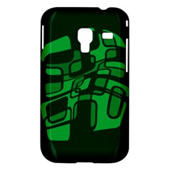 Green abstraction Samsung Galaxy Ace Plus S7500 Hardshell Case