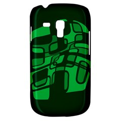 Green abstraction Samsung Galaxy S3 MINI I8190 Hardshell Case