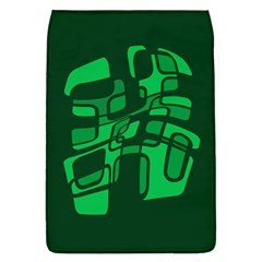 Green abstraction Flap Covers (L)