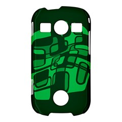 Green abstraction Samsung Galaxy S7710 Xcover 2 Hardshell Case