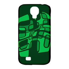 Green abstraction Samsung Galaxy S4 Classic Hardshell Case (PC+Silicone)